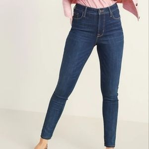 Old Navy High Waisted Rockstar Super Skinny Jeans